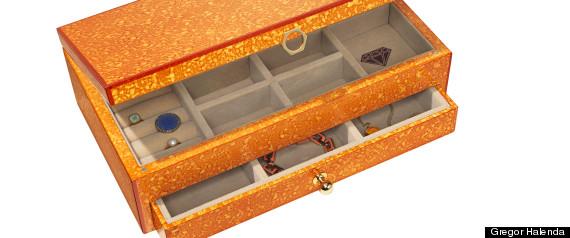 Orange Jewelry Box Craftbnb