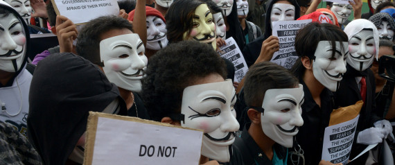 Million Mask March Anonymous