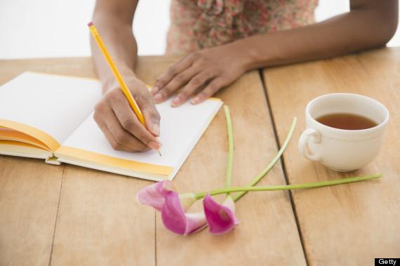 tea writing
