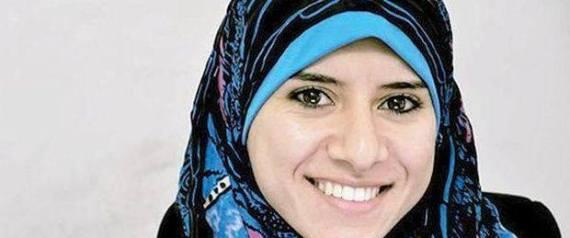 Israa al mudallal premi re femme porte parole du hamas for Porte parole en anglais