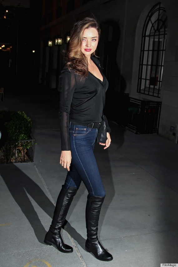 How To Wear Thigh-High Boots Without Looking Like Julia Roberts In ...