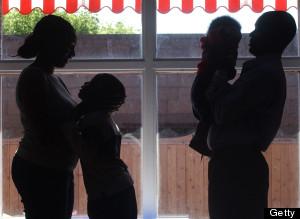 family silouette