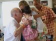 John Shear, 92-Year-Old Man, Meets The Little Girl He Saved At A Racetrack 2 Years Ago (VIDEO)