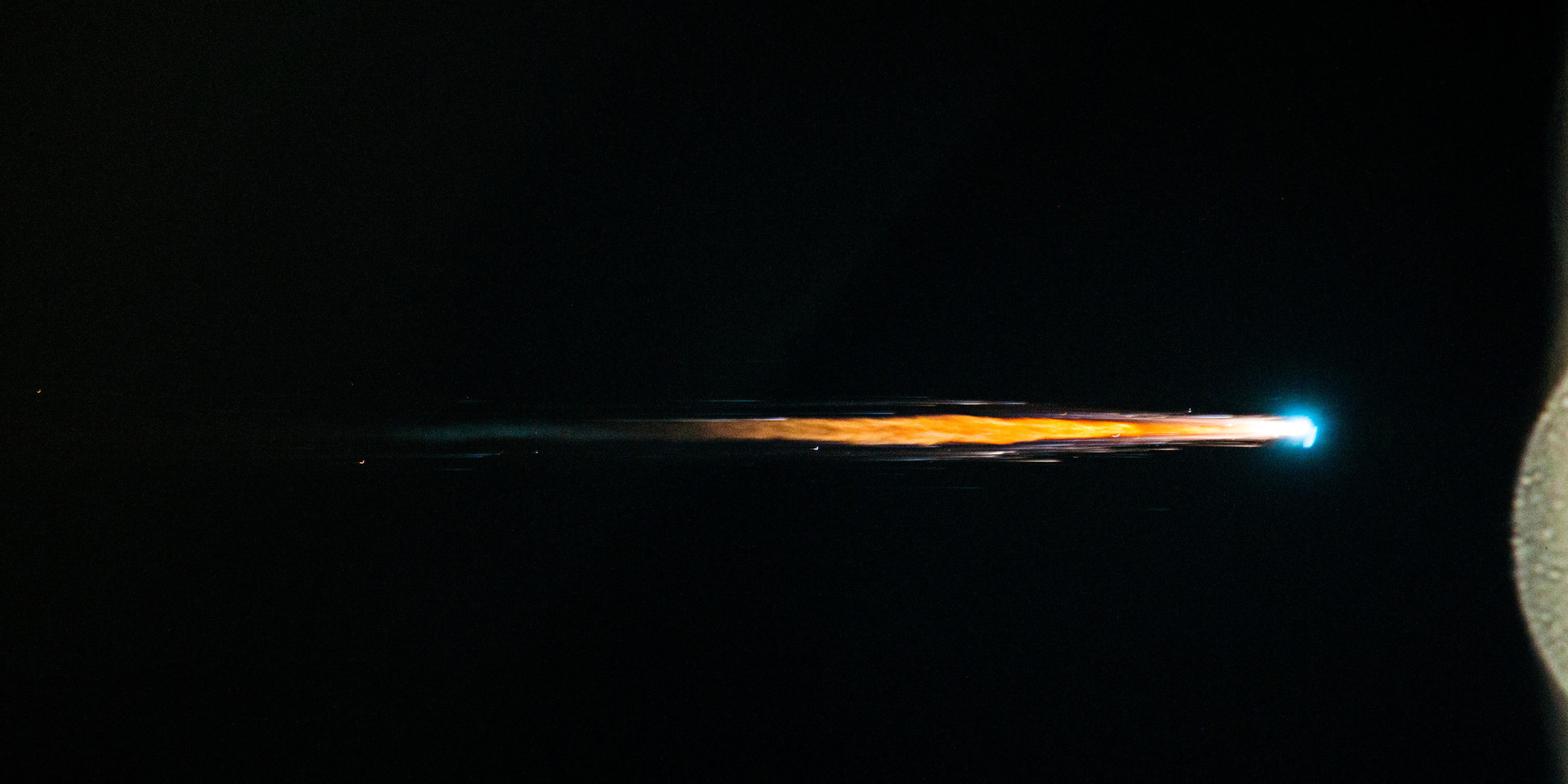 Astronauts Watch Spacecraft Burn Up In Earth's Atmosphere ...