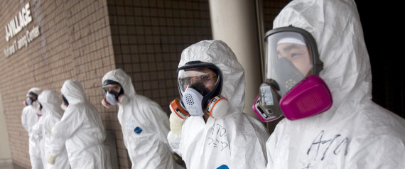 FUKUSHIMA NUCLEAR PLANT WORKERS