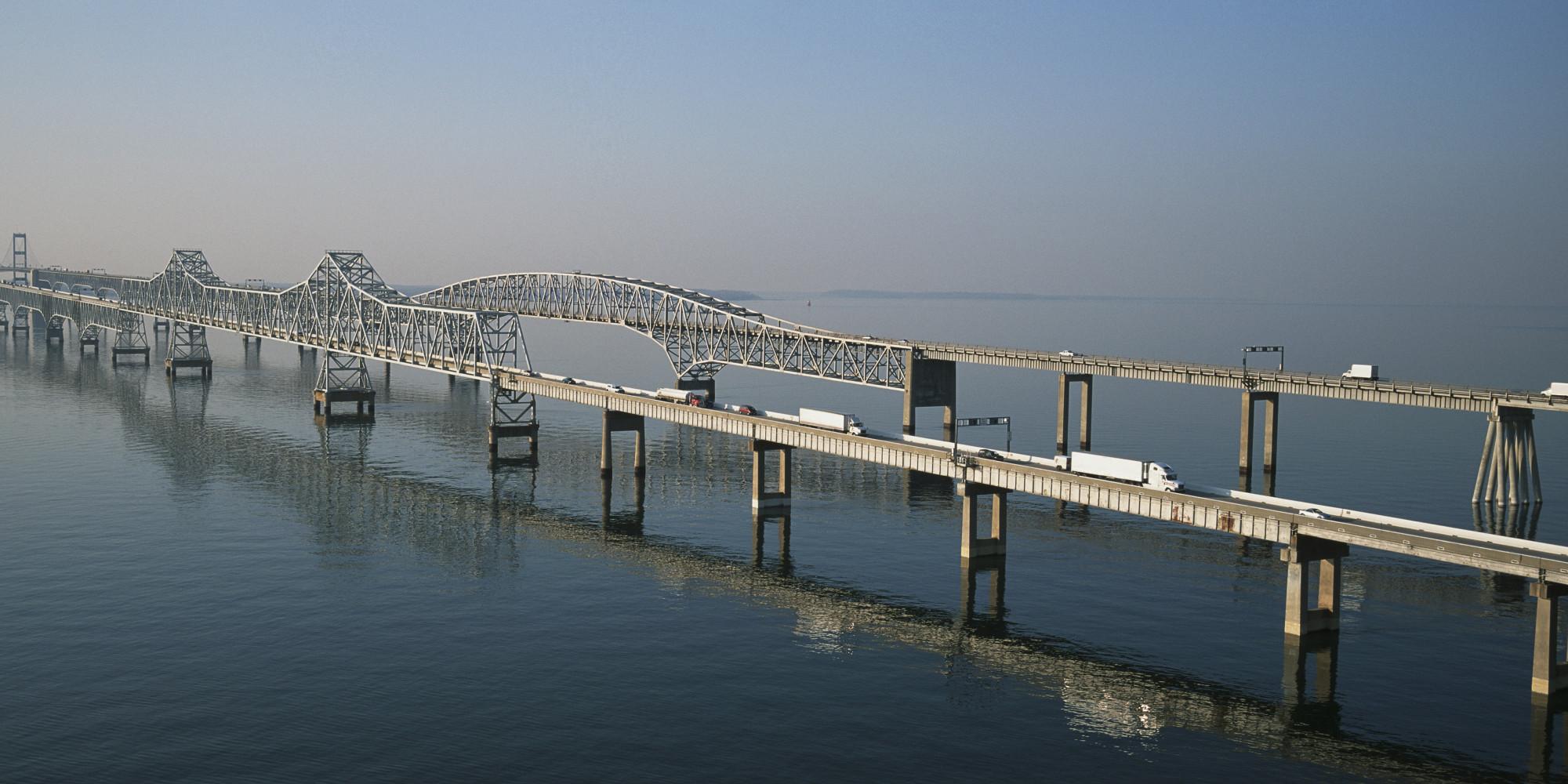 Haunted Airbnb Truck Driver In Chesapeake Bay Bridge Crash That Sent Car