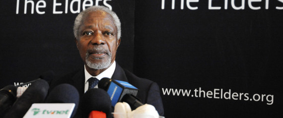 Kofi Annan: Stop 'War On Drugs'