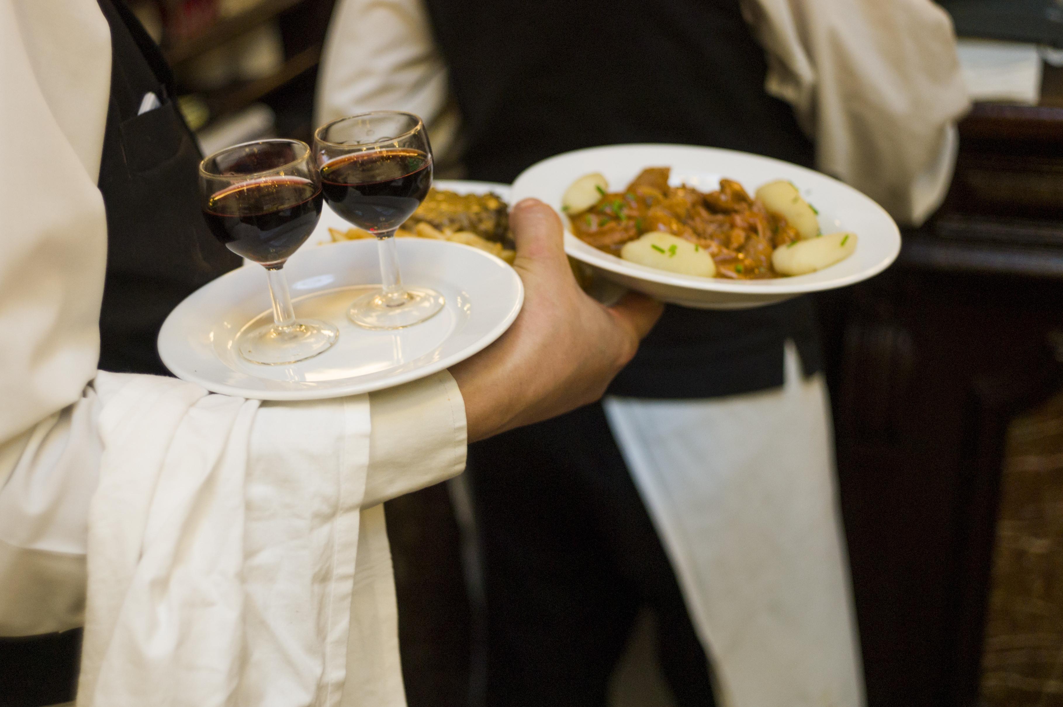 waiter restaurant