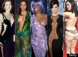 PICS: The Most Revealing, Almost Naked Red Carpet Outfits... Ever