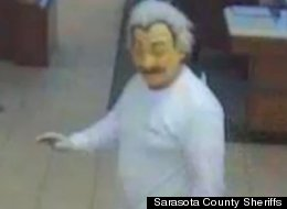 'Albert Einstein' Wanted For Florida Bank Robbery