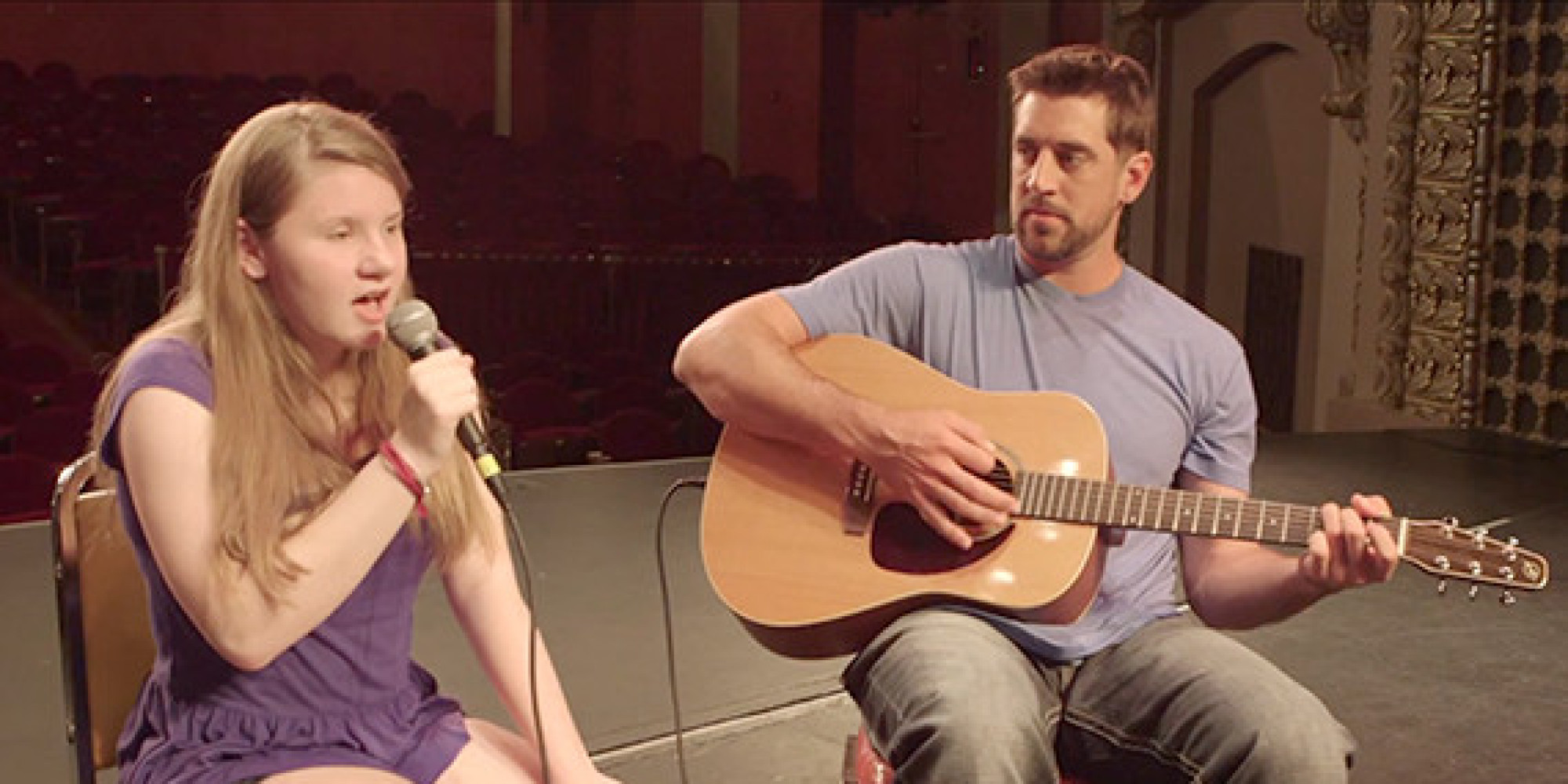aaron rodgers packers quarterback makes beautiful music