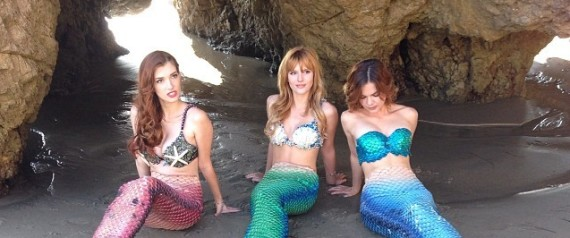 BELLA THORNE MERMAID