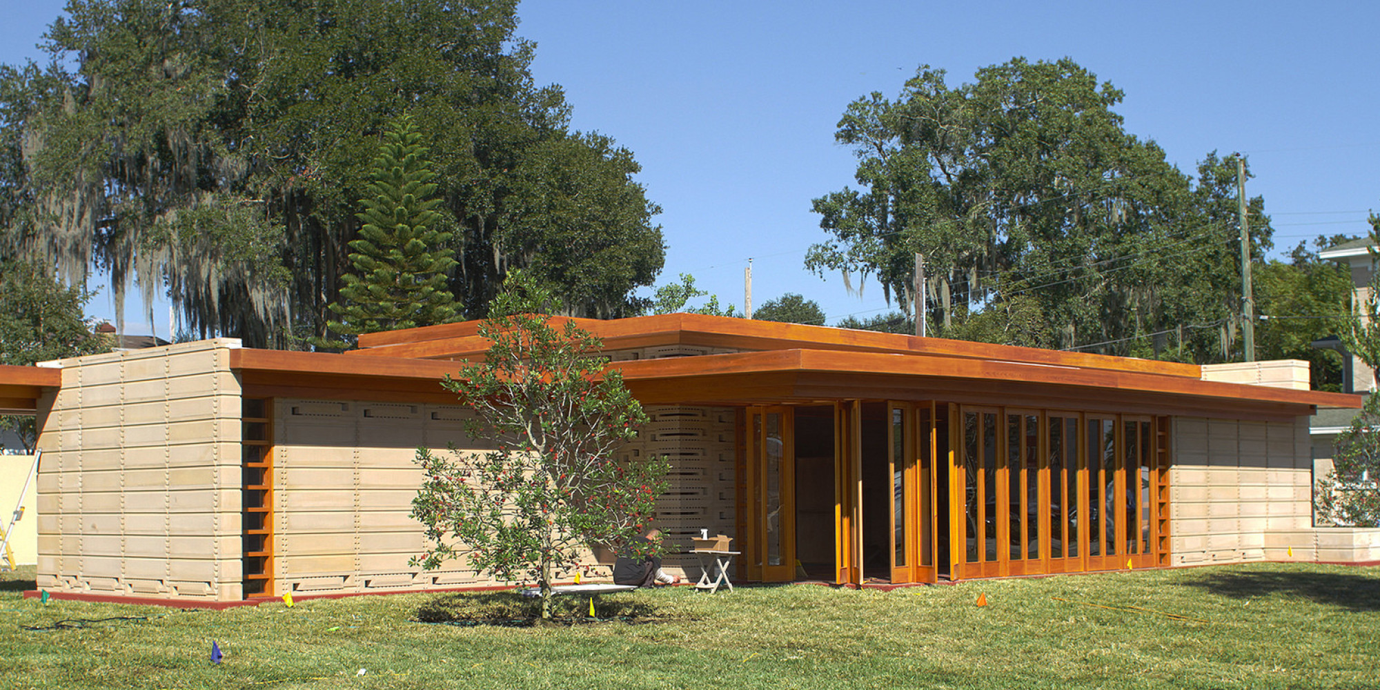 Frank Lloyd Wright S Usonian Home Was 74 Years Ahead Of Its Time Photos Huffpost