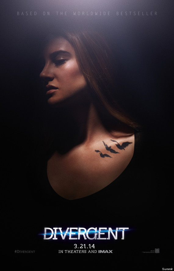 divergent character poster