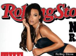 LOOK: Naya Rivera Sizzles On Rolling Stone