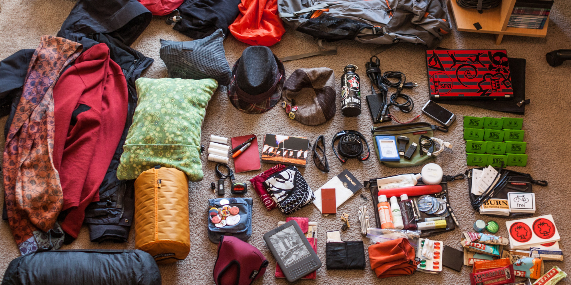 Backpacking Packing Tips: What To Bring Or Leave When In Europe ...