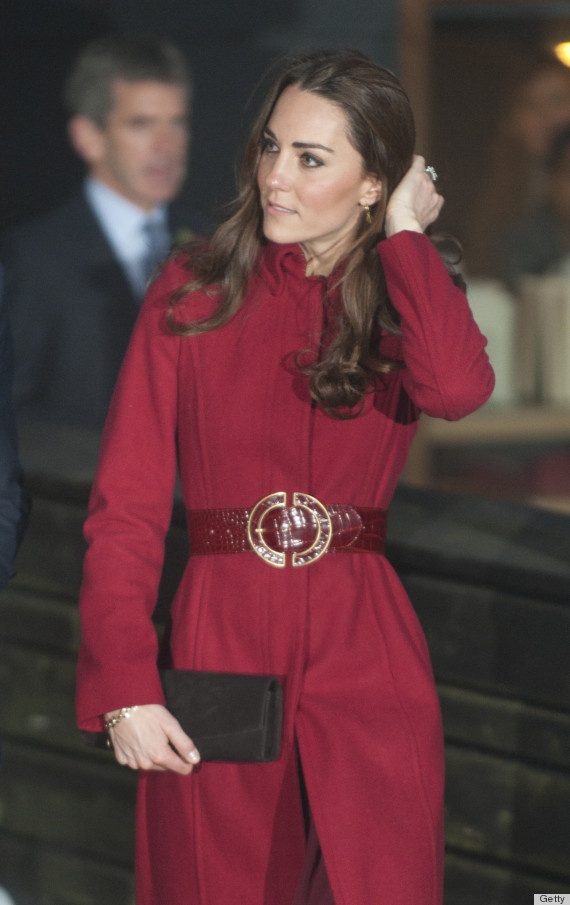 kate middleton tube