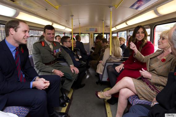 kate middleton bus