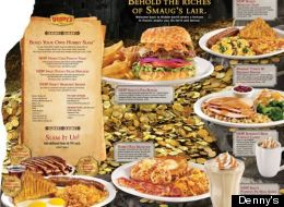 Denny's New Menu for The Hobbit: The Desolation of Smaug