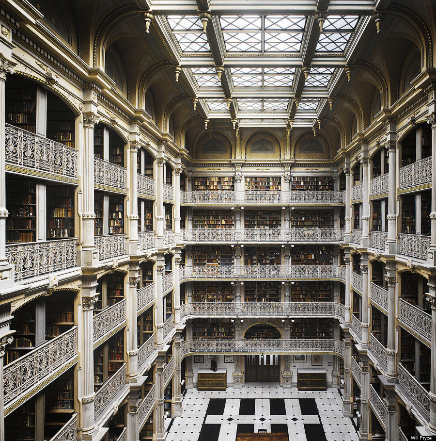 Exploring the world 39 s greatest libraries photos huffpost - Bibliotheque portes les valence ...