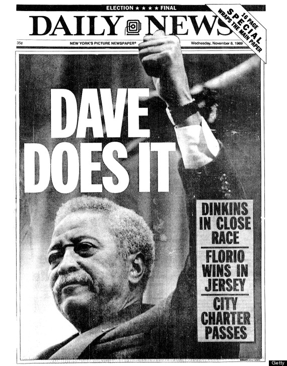 today in history david dinkins becomes first black mayor of new