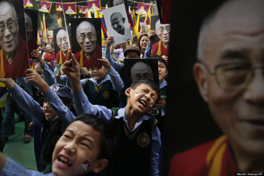 tibetan children dalai lama