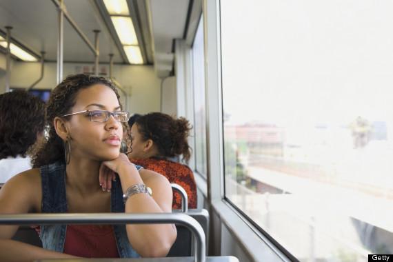 daydreaming subway