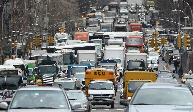 america rush hour traffic