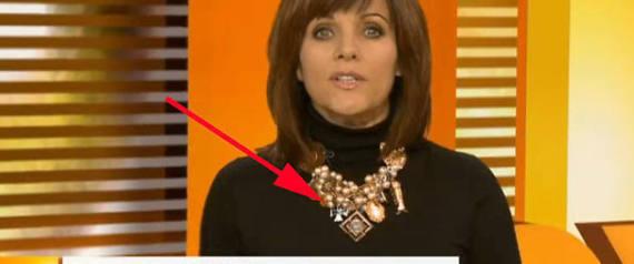 TV-Moderatorin Birgit Schrowange trägt Eisernes Kreuz an