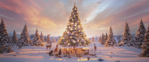 JOHN LEWIS CHRISTMAS ADVERT 2013 HARE BEAR