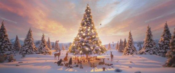 JOHN LEWIS CHRISTMAS ADVERT 2013 HARE BEAR