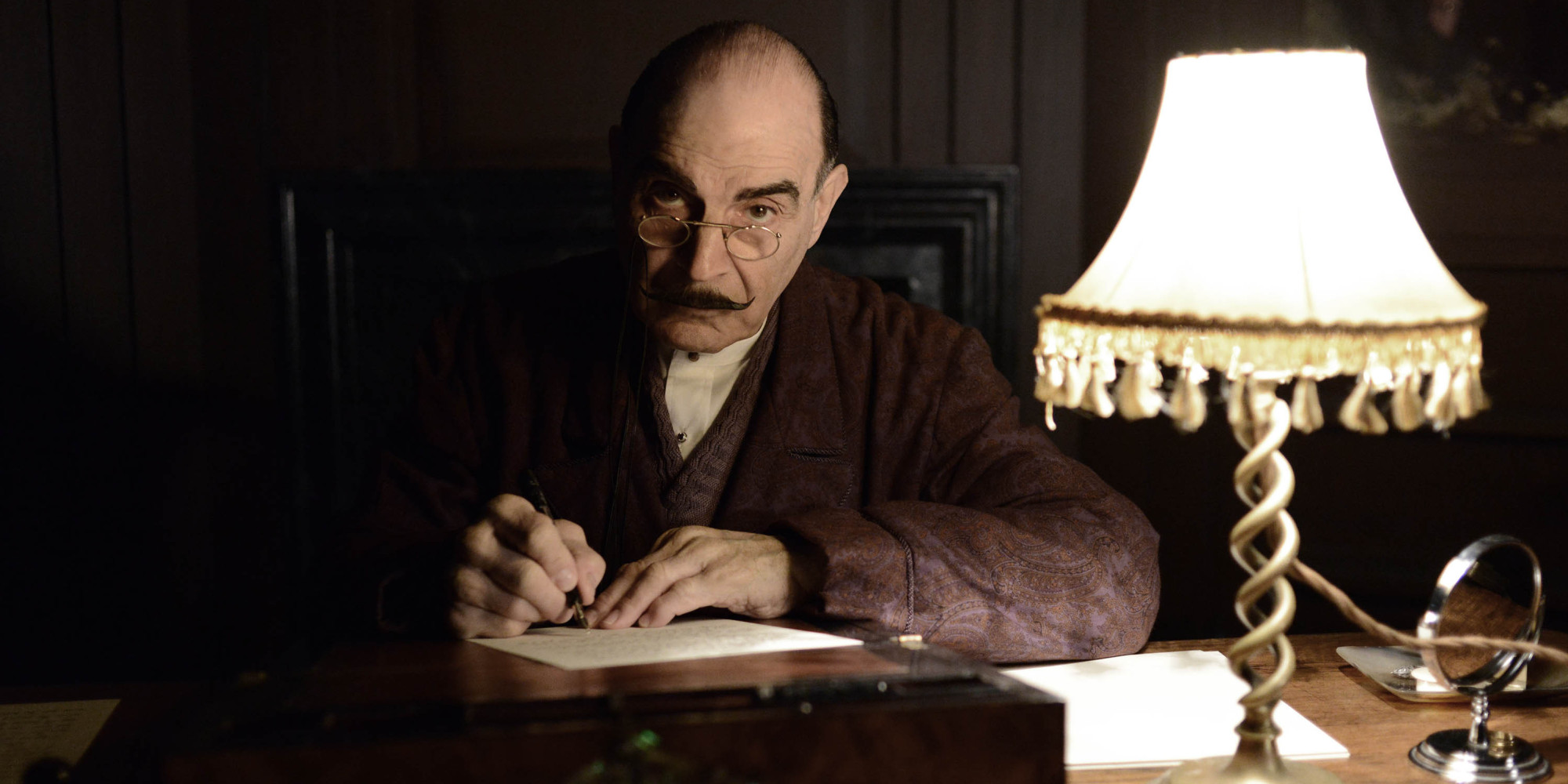 Curtain: Poirot's Last Case' Sees David Suchet Farewell Agatha ...