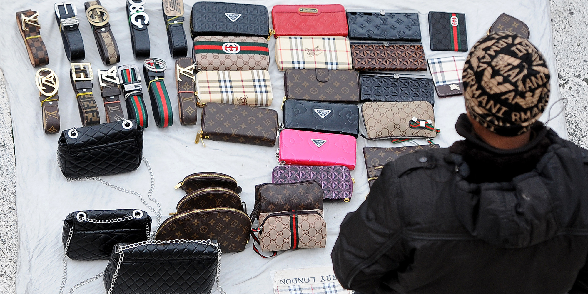 Fake bags clothing less popular as shoppers find better for Designer accessoires
