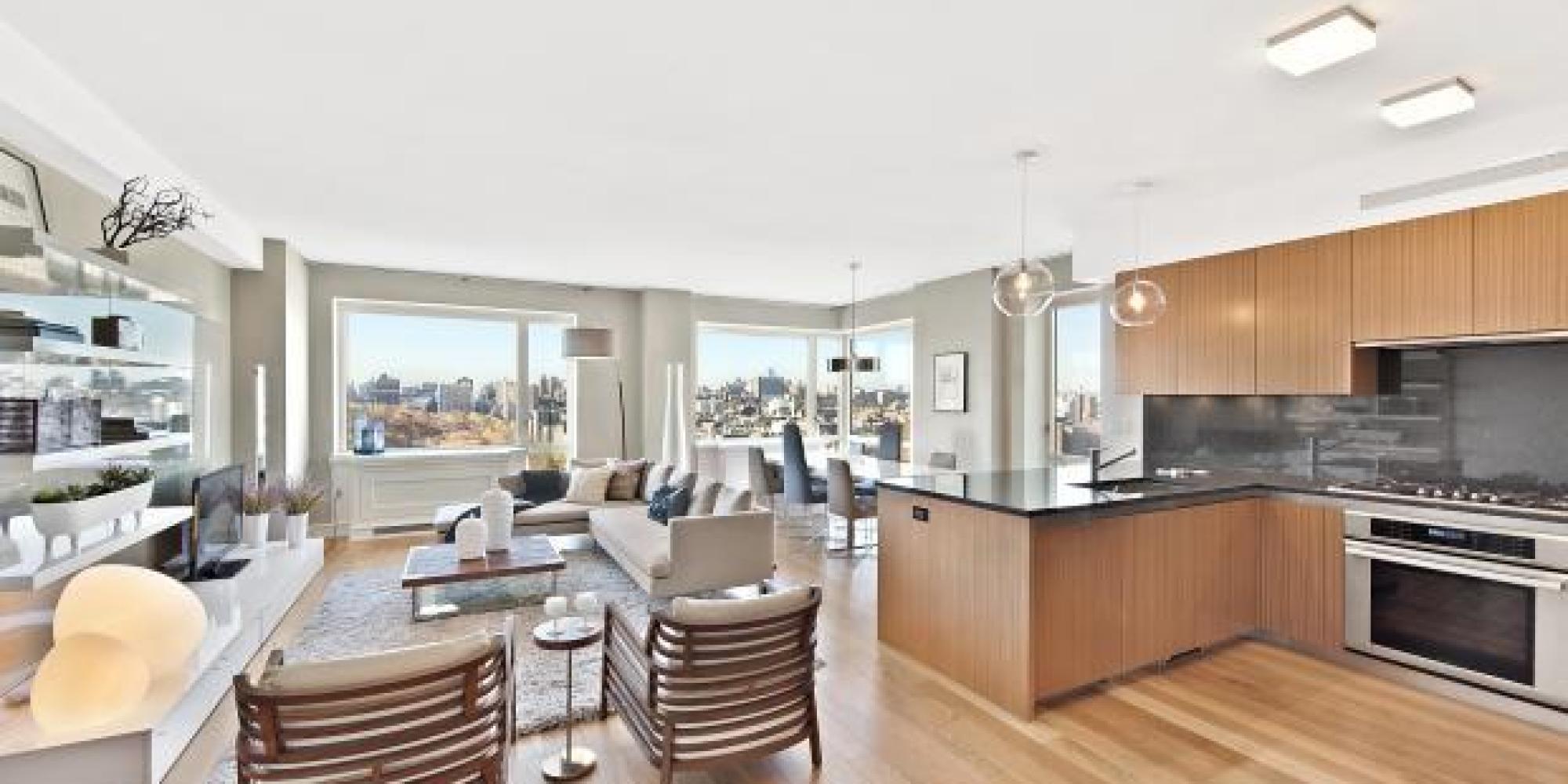 manhattan 39 s priciest condos average 5 487 per square foot huffpost. Black Bedroom Furniture Sets. Home Design Ideas