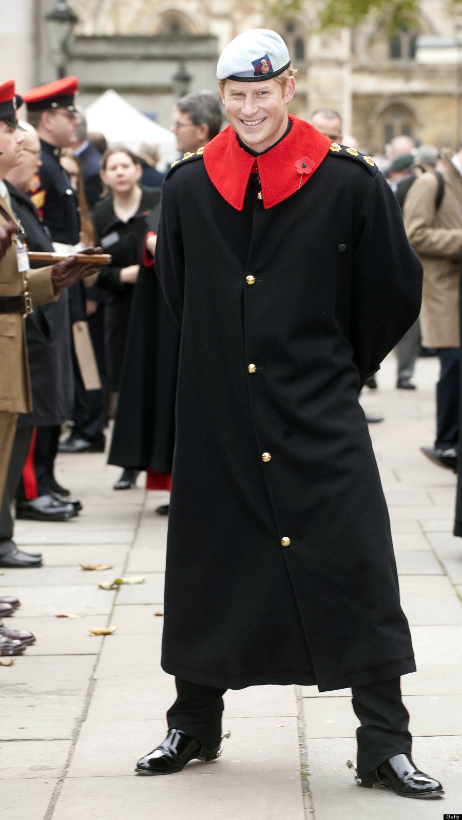 Prince Harry Can Rock A Cloak Better Than Harry Potter (VIDEO)