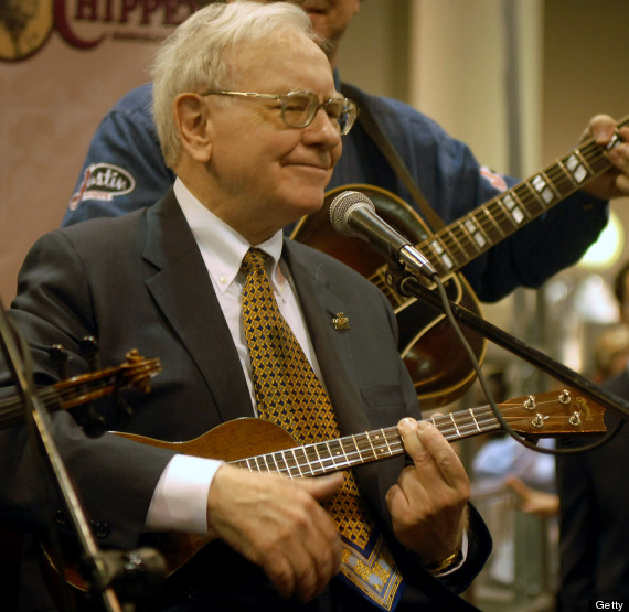 warren buffet ukulele