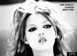 Lindsey Wixson, 15-Year-Old Model, Behind-The-Scenes At ...