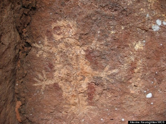 cave drawings brazil