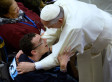 Pope Francis Welcomes Hundreds With Disabilities In Wheelchairs.. One By One