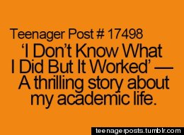 Teenager Posts Of The Week!