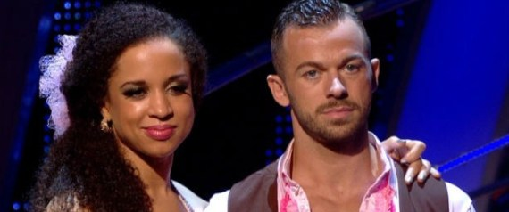 natalie faints strictly