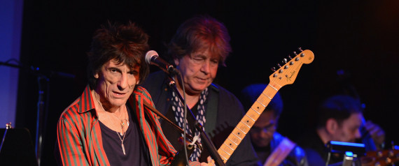 RONNIE WOOD MICK TAYLOR