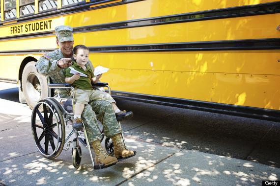 military family injured