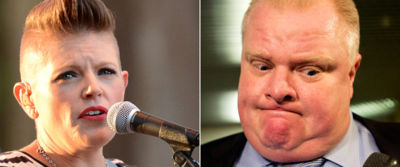 dixie chicks rob ford