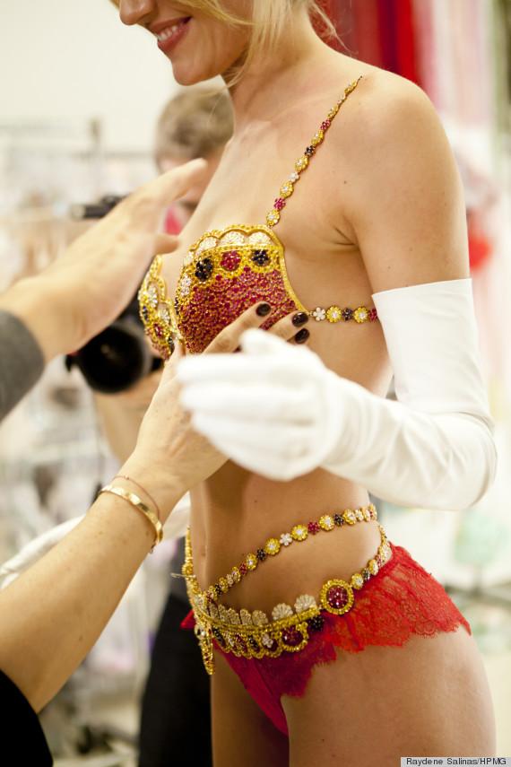 Candice Swanepoel On Those Wild Victoria's Secret Costumes ...