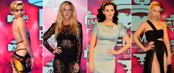 mtv emas red carpet