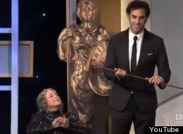 WATCH: Sacha Baron Cohen Shocks Hollywood Awards Audience