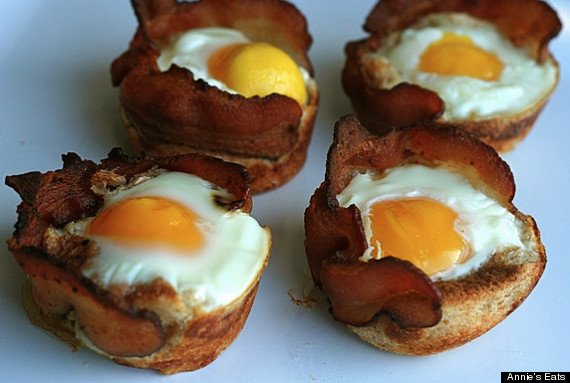 bacon egg and toast cups by annie s eats