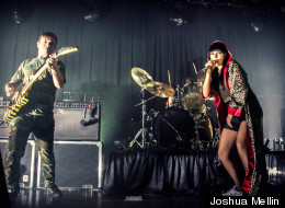 LOOK: Sleigh Bells Rock Sold-Out Metro Show