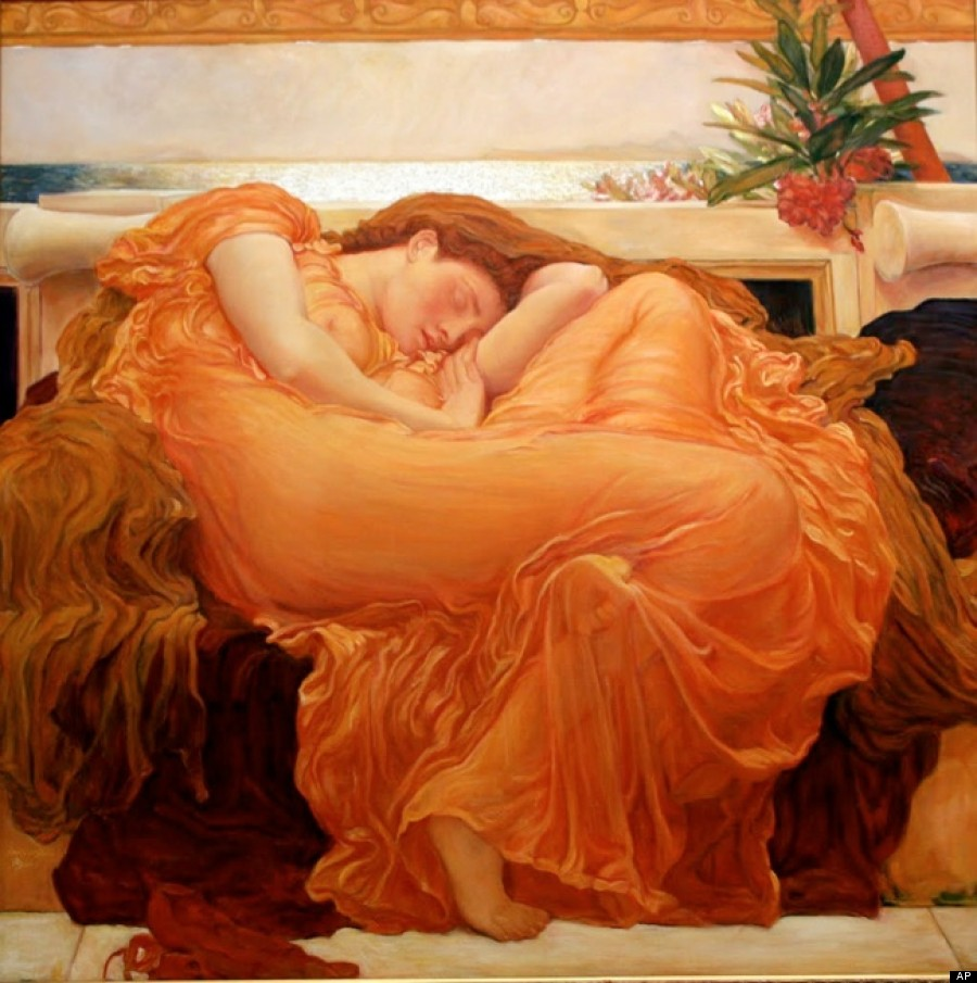 flaming june painting